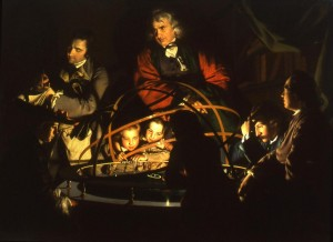 "Joseph Wright's ""A Philosopher Lecturing on the Orrery"""