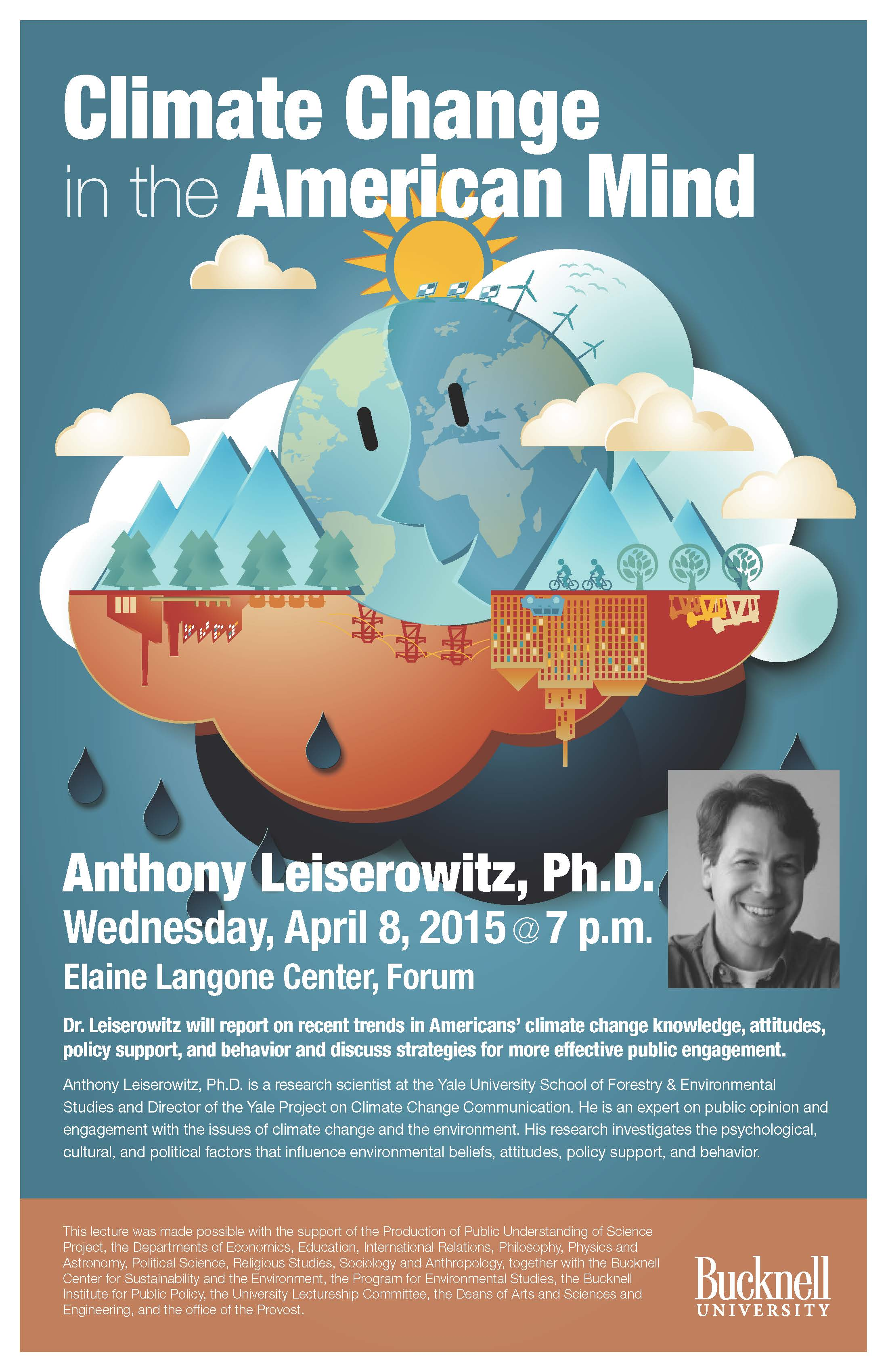 """Anthony Leiserowitz, """"Climate Change in the American Mind"""""""